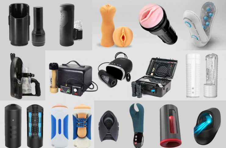 Male Masturbators: Manual Strokers, Automated Strokers, Milkers, Simulators & Vibrators