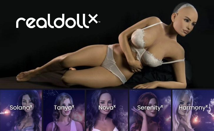 Sexbots 2021: AI Love Dolls & Sex Robots Realdollx